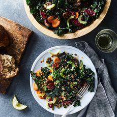 Kale, Chorizo & Lentil Salad