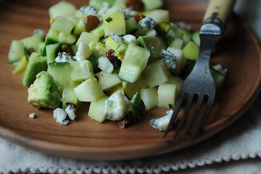 Shades of Green Chopped Salad + Double-Corn Corn Bread with Fresh Thyme