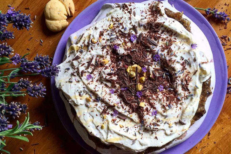 Lavender Pavlova Recipe