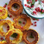 49f16821 8373 4b53 a8b8 e7ce9a2d7ae5  roasted delicata squash rings with herbed yogurt 17
