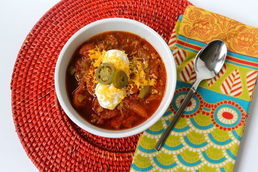 Make-It-Your-Own Beanless Chili