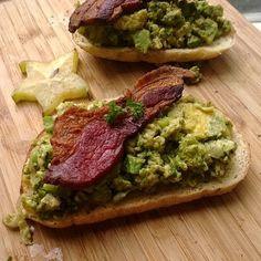 Green Eggs and Pancetta