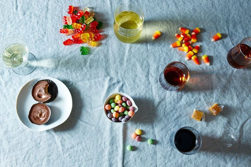 candy and wine