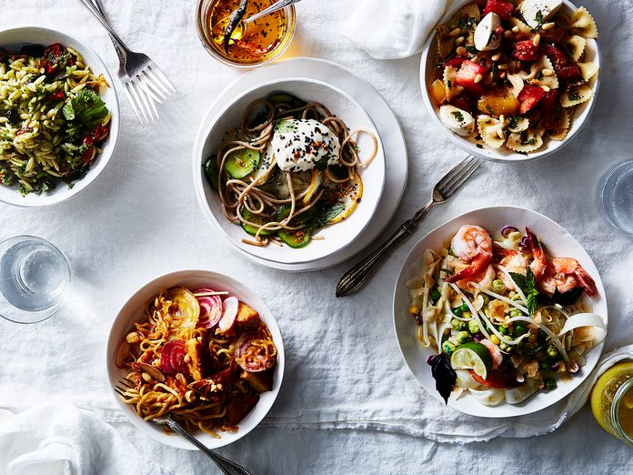 5 Cold, Quick Noodle Salads for the Hungry, Hurried & Hot