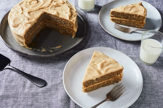 Lindsay-Jean Hard's Banana Peel Cake with Brown Sugar Frosting Recipe on Food52