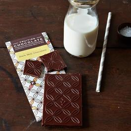 Fruition Dark Milk with Fleur de Sel, 3 Bars