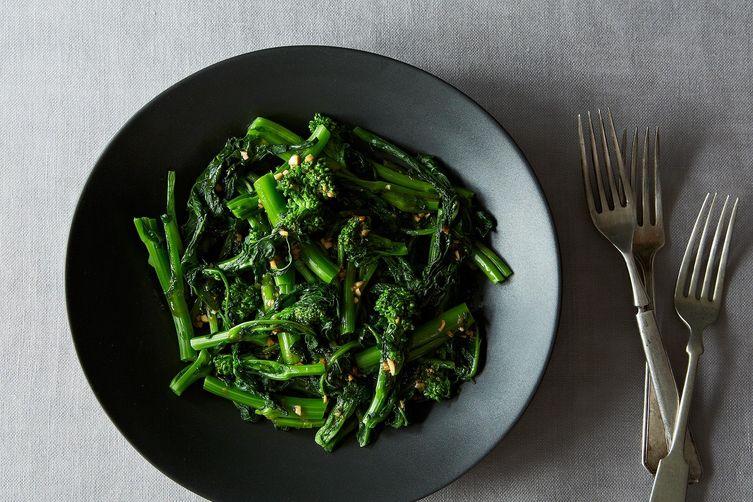 Chinese Broccoli Salad with Sesame Sriracha Dressing