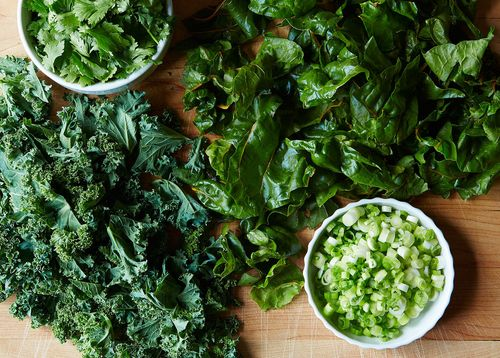 Your Best Recipe with Green Stuff