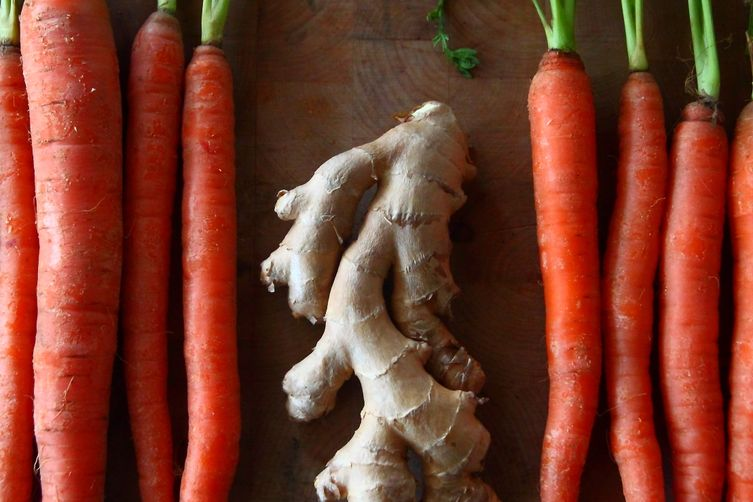 Ginger and Orange Glazed Carrots