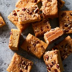 Brown Sugar Saucepan Blondies
