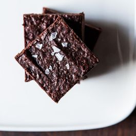 A Brownie by Shit Food Blogger