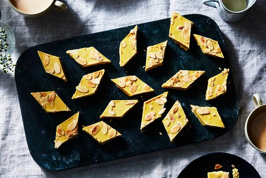Indian Fudge (Besan Barfi)
