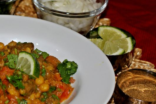 Slow Cooked Bengali Lamb Chili