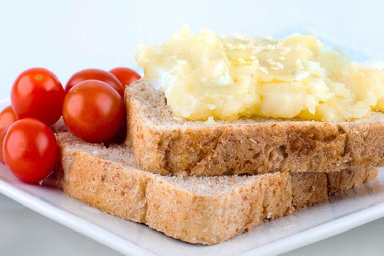 Grilled Potato Cheese Sandwich