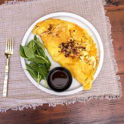 GF vegan crispy Vietnamese pancake (Bánh Xèo)