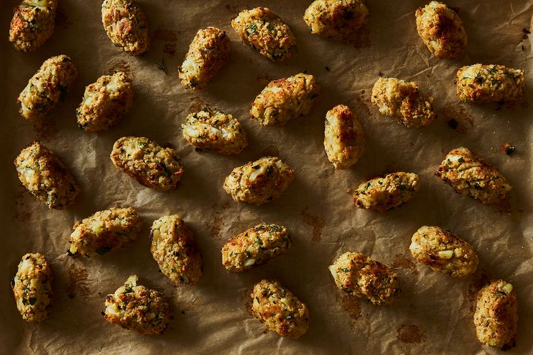 Crispy Parmesan Cauliflower Tots