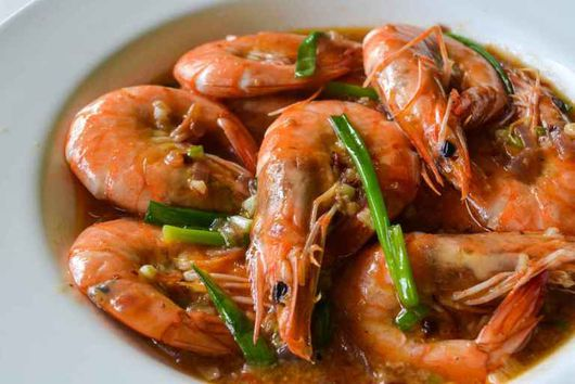 Sweet Chili Buttered Shrimps