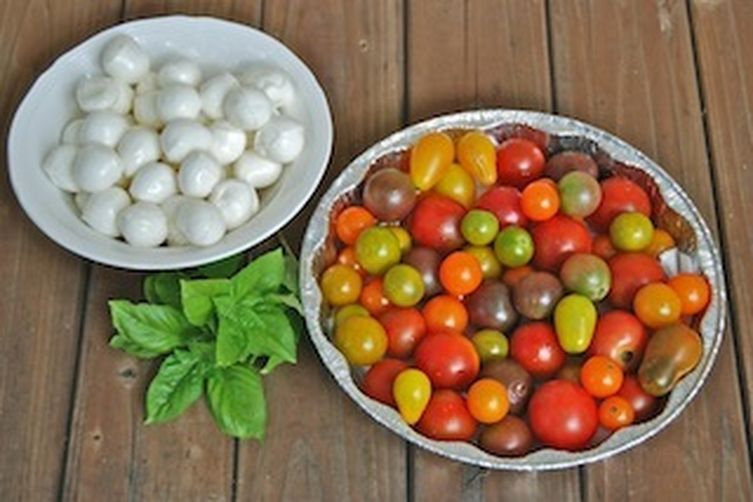 Cherry Tomato and Mozzarella Salad