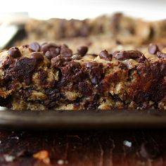 Gluten Free & Vegan Chocolate Chip Biscotti