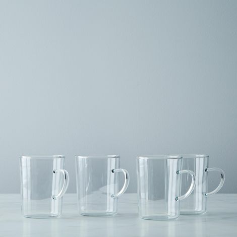 Glass Tea Cup (Set of 4)