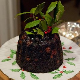 Steamed Cranberry Pudding