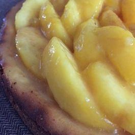 Peach Apricot Cheesecake