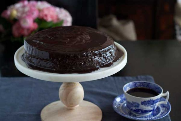 Hazelnut Chocolate Layer Cake (Torta Gianduia)  – Piemonte, Dolci (Dessert)