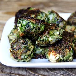 Fried Greens Meatlessballs