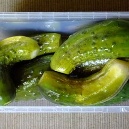 Mild-Cured Cucumbers
