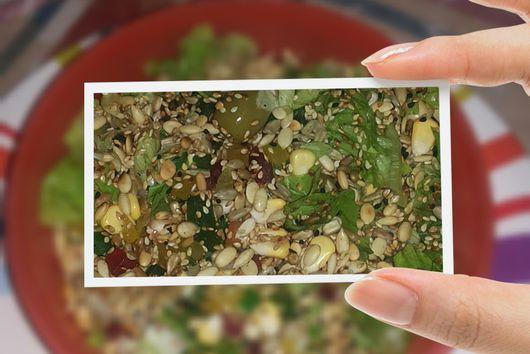 GG's signature salad