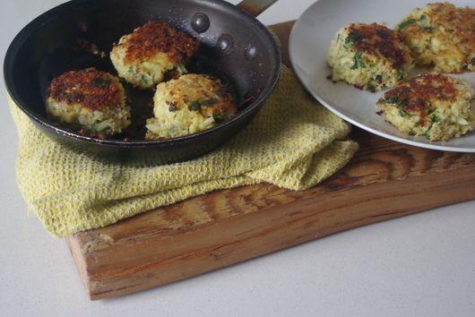 Cauliflowers patties