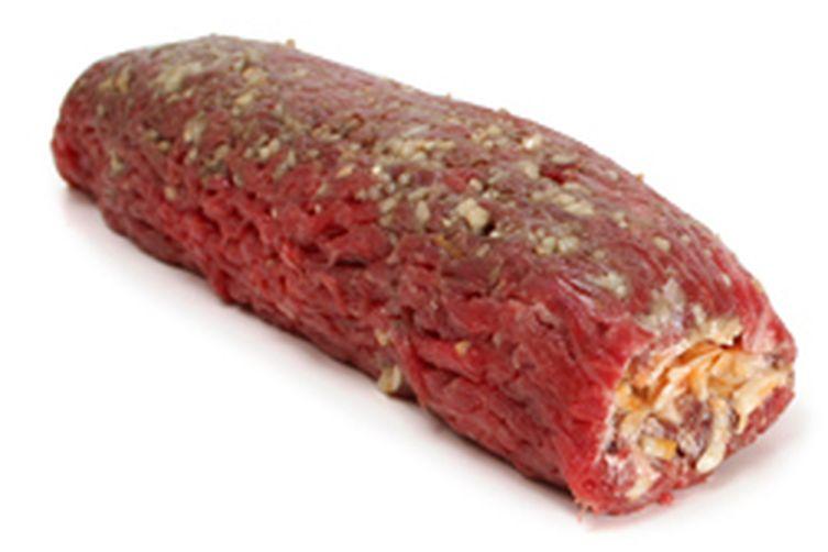 stuffed flank steak... Recipe on Food52