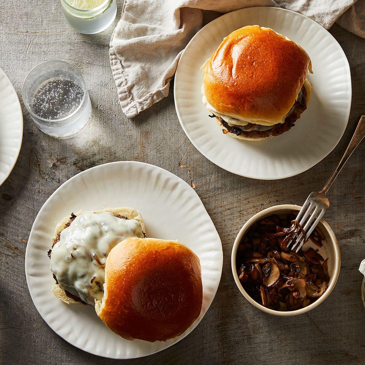 Savory Mushroom Turkey Burger Recipe On Food52