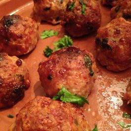 Bestest Turkey Meatballs 4 Thanksgiving etc.