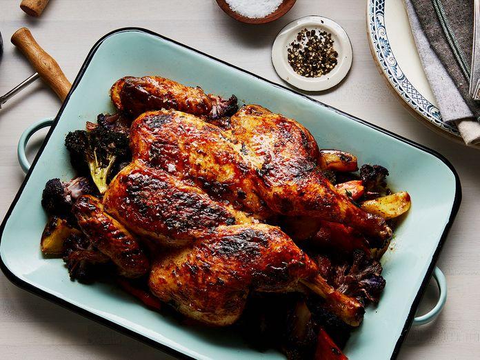 Roast Chicken: 1 Bird, 10 Ways