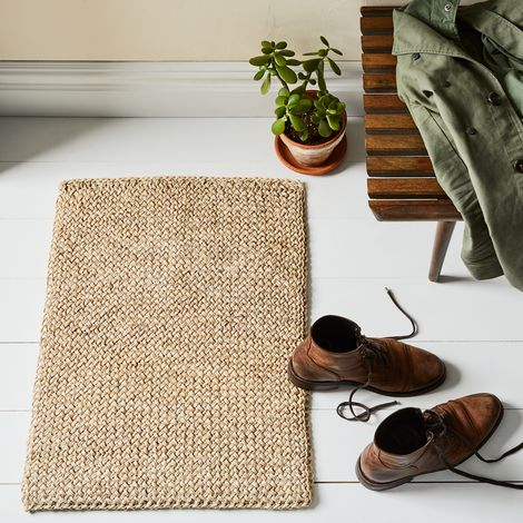 Natural Handbraided Doormat