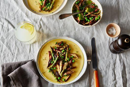 Savory Vegan Chickpea Crêpes With Vegetable Ragout