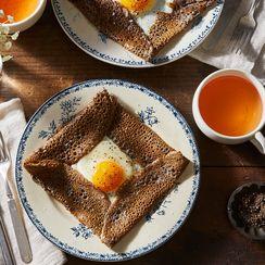 Ham, Egg, & Gruyère Galette Complète