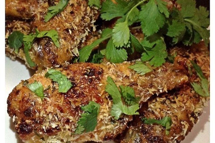 Coconut Cilantro Chicken Wings