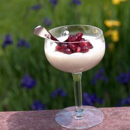 Vanilla Buttermilk Panna Cotta with Roasted Cherries