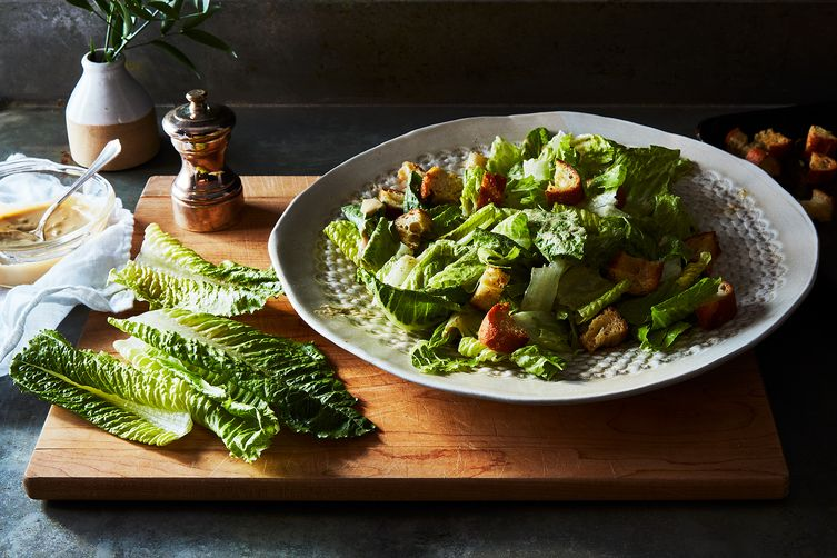 Traditional Vegan Caesar Salad