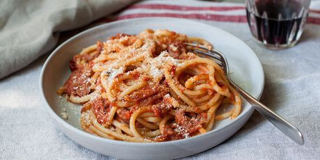 In the wake of a tragic earthquake, make amatriciana for Amatrice
