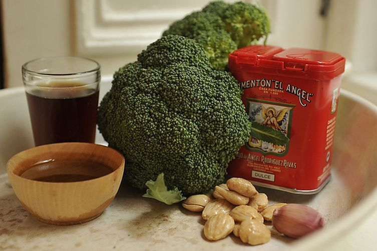 Roasted Broccoli with Smoked Paprika Vinaigrette and ...