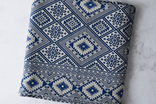 Turkish Jacquard Throw Blanket