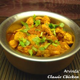 Arvinda's Classic Chicken Curry