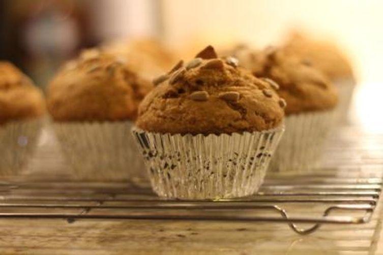 Peanut Butter Pumpkin Muffins