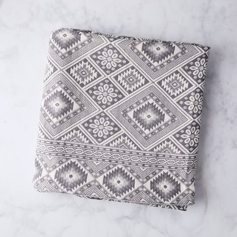 Turkish Jacquard Throw Blanket
