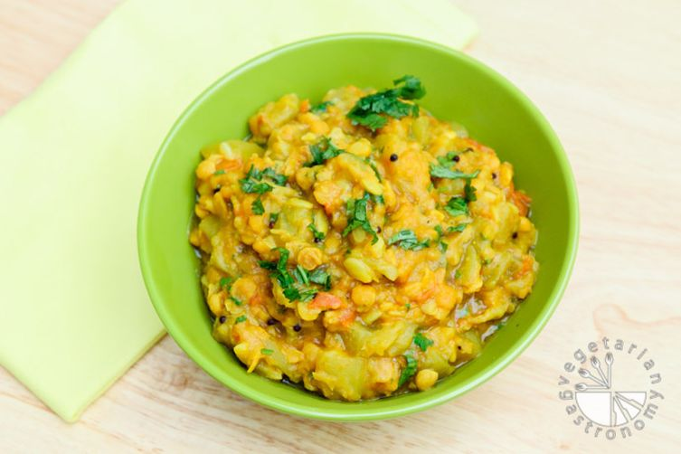 Curried Opo Squash