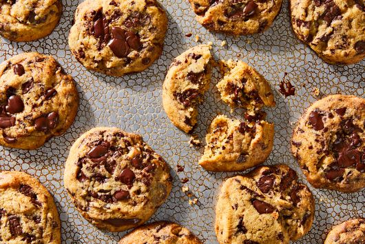 Meltaway Chocolate Chip Cookies