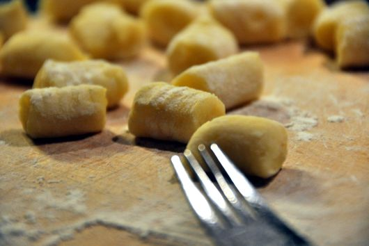 Gnocchi with Leftover Parts